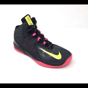 Nike AirMax Stutter Step 2 Neon, size 7.